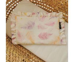 Bambusový polštářek s volánky Lullalove