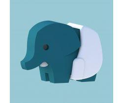 Magnetická skládací hračka HALFTOYS Baby Slon