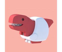 Magnetická skládací hračka HALFTOYS Baby T-Rex