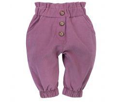 Manšestrové tepláčky Pinokio My Garden Pink