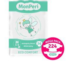 Mega Pack dětské pleny 224 ks 5-8 kg MonPeri Eco Comfort M