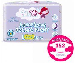 Mega Pack Pleny MonPeri L (8-12 kg) 152 ks