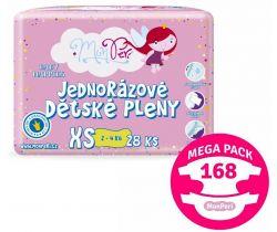 Mega pack Pleny 168 ks 2-4 kg MonPeri XS