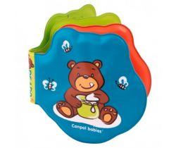 Canpol Medvídci měkká vybarvovací pískací knížka