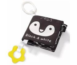 Měkká senzorická knížka BabyOno Black & White