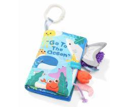 Měkká senzorická knížka BabyOno Ocean