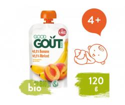 Meruňka s banánem (120 g) Good Gout BIO