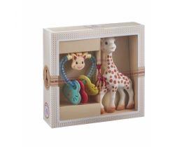Můj první dárkový set Sophie žirafka + chrastítko Vulli