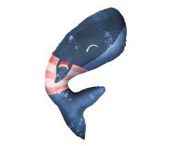 Multifunkční polštář Baby Bites Whale
