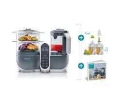Multifunkční přístroj Babymoov Nutribaby + Industrial Grey + Foodii