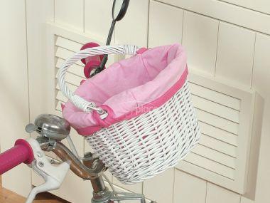 My Sweet Baby košík na dětské kolo bílá