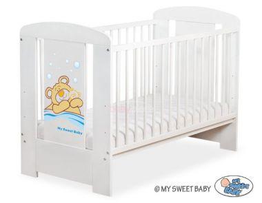 My Sweet Baby Méďa Barnabáš postýlka 120x60 cm