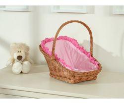 My Sweet Baby proutěné nosítko pro panenku přirodní