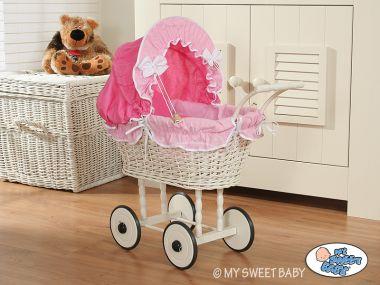 My Sweet Baby proutěný kočárek pro panenku 2