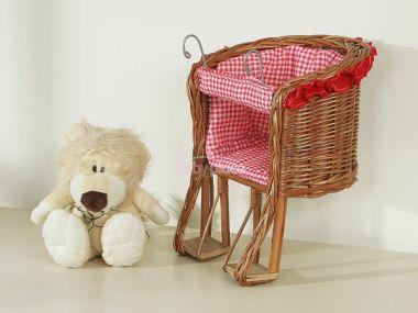 My Sweet Baby sedátko pro panenku na kolo střední přírodní