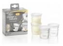 Nádobky na skladování mateřského mléka Tomme Tippee C2N, 4ks, 0+m