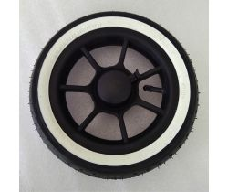 Nafukovací kolo ke kočárku Emmaljunga 250x64 White/Black