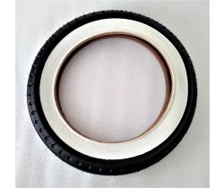 Náhradní plášť na nafukovací kolo Emmaljunga 12 1/2 x 2 1/4 White/Black