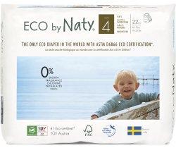 Natahovací plenkové kalhotky 8-15 kg (22 ks) Naty Maxi