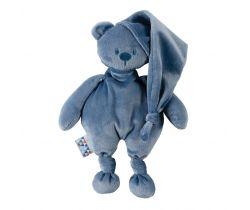 Hračka plyšová Nattou Teddy Bear Lapidou 100% recycled 36 cm