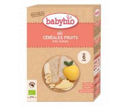 Nemléčná kaše s ovocem 200 g Babybio Bio