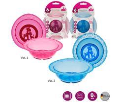 Jídelní miska NIP Mix barev 1 ks