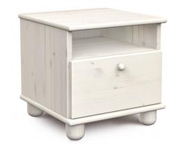Noční stolek Faktum Tomi Glaze White