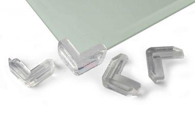 Ochrana rohů skleněného stolu Reer - sada 4 ks