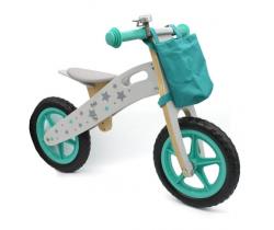 Odrážedlo s příslušenstvím Wooden Toys Stars