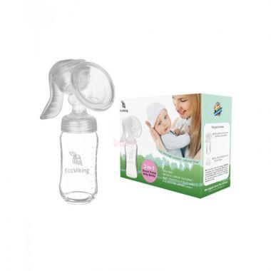 Odsávačka mateřského mléka skleněná EcoVking
