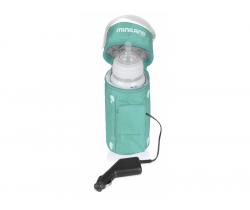 Ohřívač kojeneckých láhví do auta Miniland Baby Warmy Travel