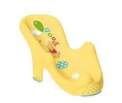 OKT Winnie the Pooh anatomické lehátko do vany žlutá