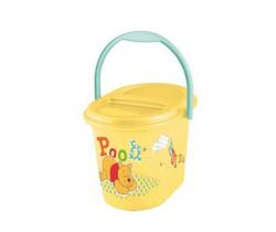 OKT Winnie the Pooh koš na pleny žlutá
