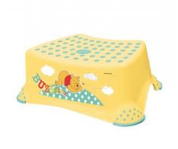 OKT Winnie the Pooh stupínek k WC/umyvadlo žlutá