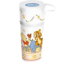 OKT Winnie the Pooh termoobal na kojenecké láhve bílá