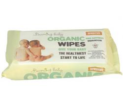 Organické vlhčené ubrousky s vůní 72 ks Beaming Baby