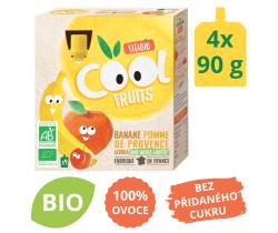 Ovocné BIO kapsičky 4x90g Vitabio Cool Fruits jablko, banán a acerola
