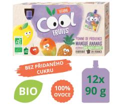 Ovocné BIO kapsičky Vitabio 12x90g Cool Fruits jablko, mango, ananas a acerola