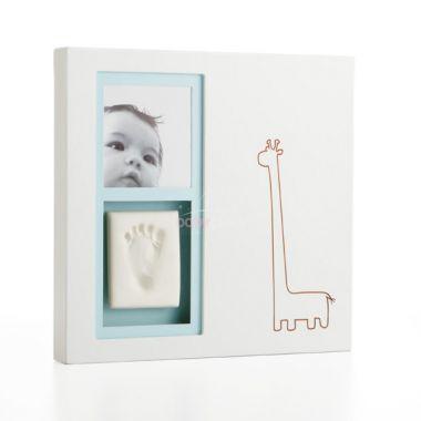 Pearhead Babyprints moderní rámeček na stěnu-bílý