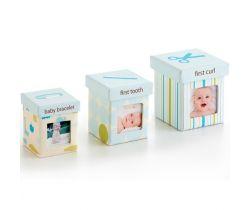 Pearhead Little Keepsake set krabiček-modrý