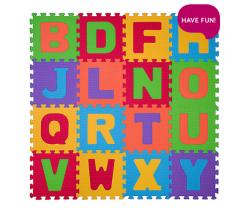 Pěnové puzzle 16 ks BabyOno Písmenka