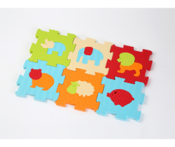 Pěnové puzzle 46,5x31,5 cm Ludi Zvířátka