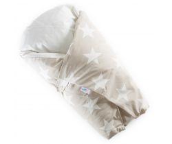 Zavinovačka Péřová dráče béžová velké bílé hvězdy