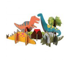 3D puzzle Petitcollage Dinosauři