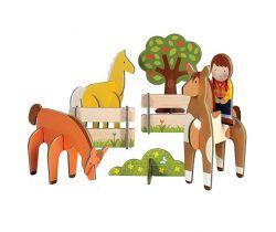 3D puzzle Petitcollage Koně