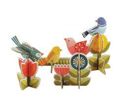 3D puzzle Petitcollage Ptáčci