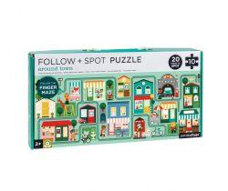 Bludiště a puzzle Petitcollage Město