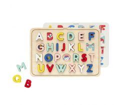Dřevěné puzzle Petitcollage Abeceda