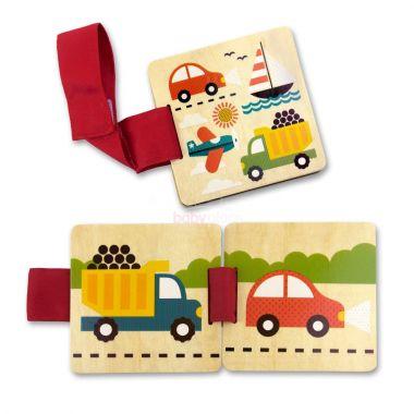Kniha Petitcollage Dopravní prostředky