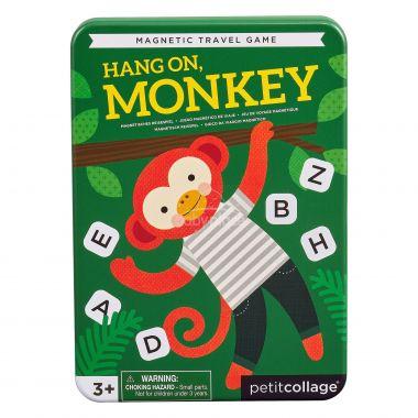 Magnetická hra Petitcollage Počkej, opičko